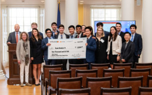 Ankura-McIntire Case Competition winners