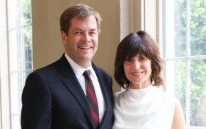 John P. Connaughton (McIntire '87) and Stephanie F. Connaughton