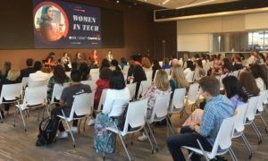 Women in Tech panel