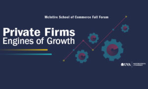 "Fall Forum, ""Private Firms—Engines of Growth"""
