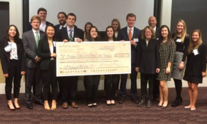 2017 Navigant-McIntire Case Competition winners