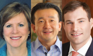 Mary Beth Cardin, Yang Shim, and Ben Slater